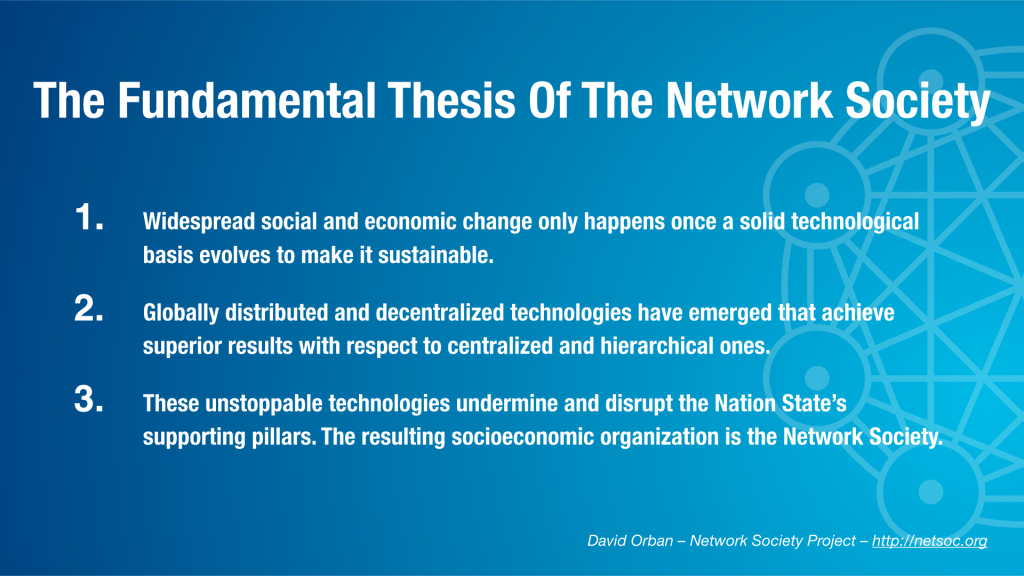 Network Society Fundamental Thesis Eng